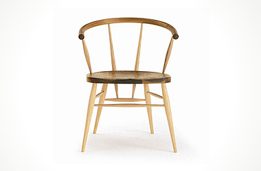 W552 comb back side chair/KANEKA